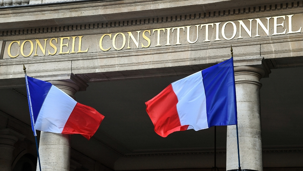 Le Conseil constitutionnel, le 15 octobre 2018