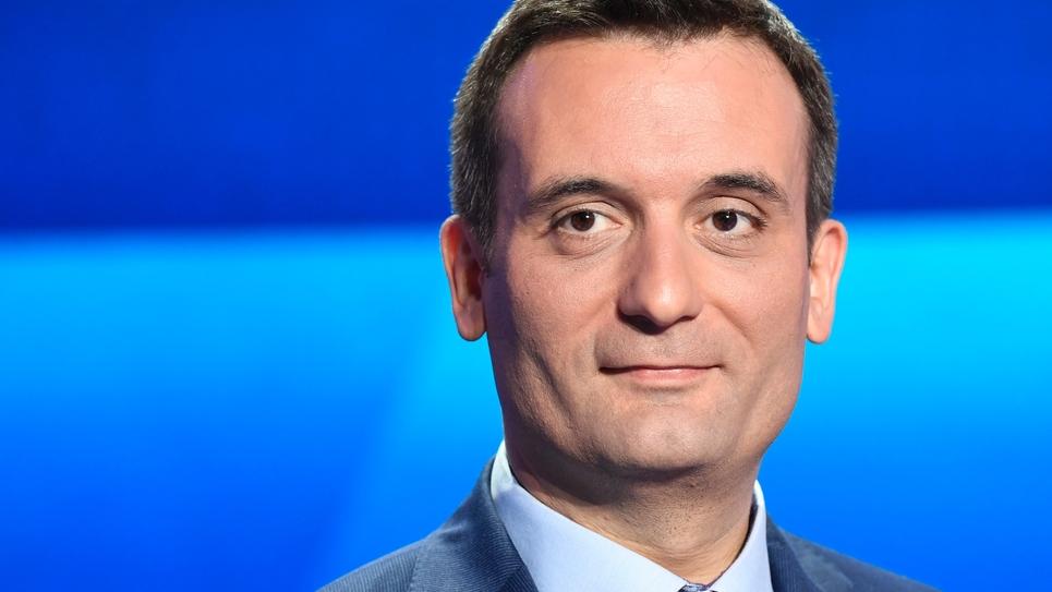 """Florian Philippot, tête de liste pour le parti """"Les Patriotes"""" aux élections européennes, le 4 avril 2019"""