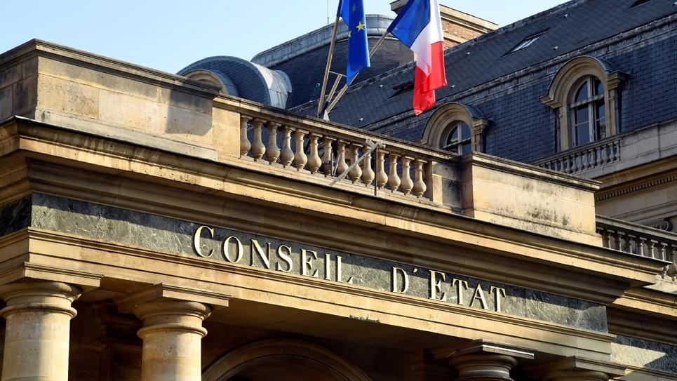 Entrée du Conseil d'Etat à Paris