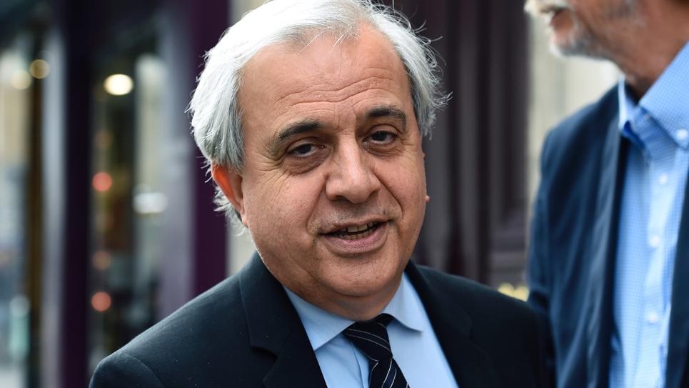 Le sénateur LR Roger Karoutchi, à l'origine de l'amendement supprimant l'AME, le 11 juillet 2018 à Paris