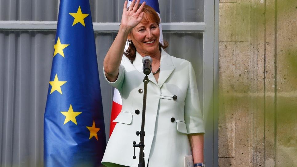 Ségolène Royal à Paris, le 17 mai 2017