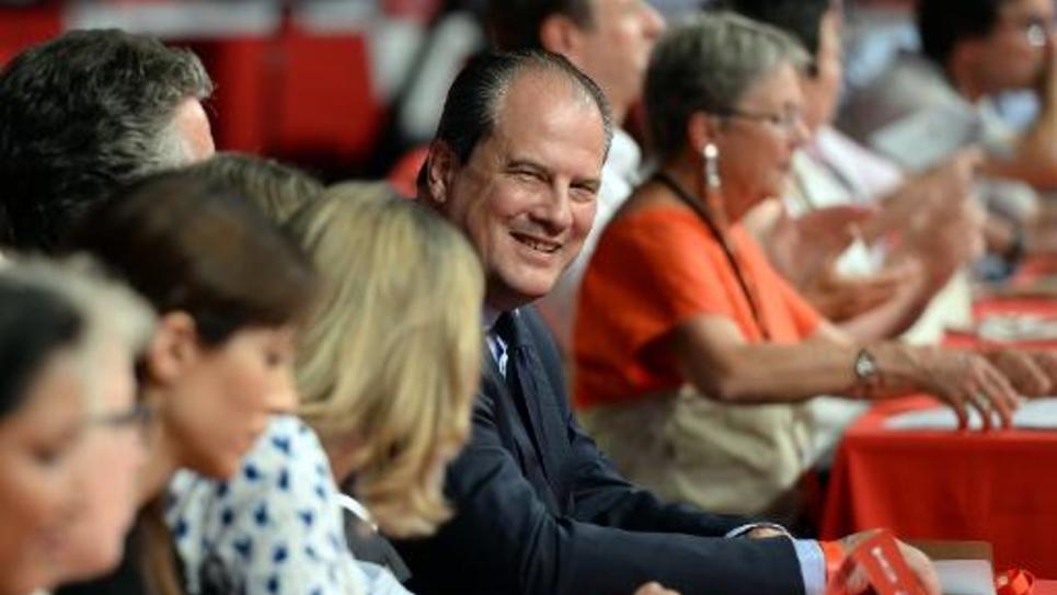 Le Premier secrétaire du PS, Jean-Christophe Cambadelis, lors du congrès de son parti, à Poitiers, le 5 juin 2015