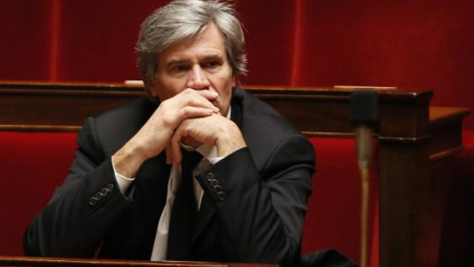 Stéphane Le Foll le 17 février 2015 à l'Assemblée nationale à Paris