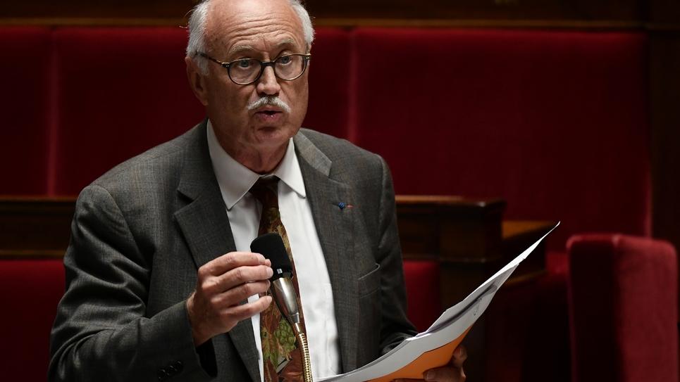 Le député (LREM) Jean-Louis Touraine, également professeur de médecine