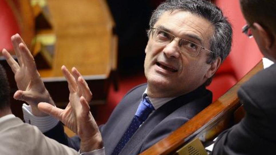 Patrick Devedjian à l'Assemblée nationale le 15 juillet 2014