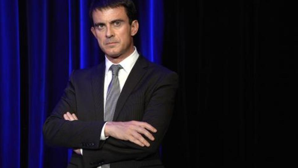 Le Premier ministre Manuel Valls au Salon International de l'Alimentation le 20 octobre 2014 à Villepinte