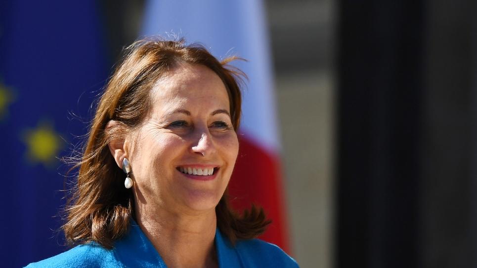 Ségolène Royal à l'Elysée le 12 avril 2017