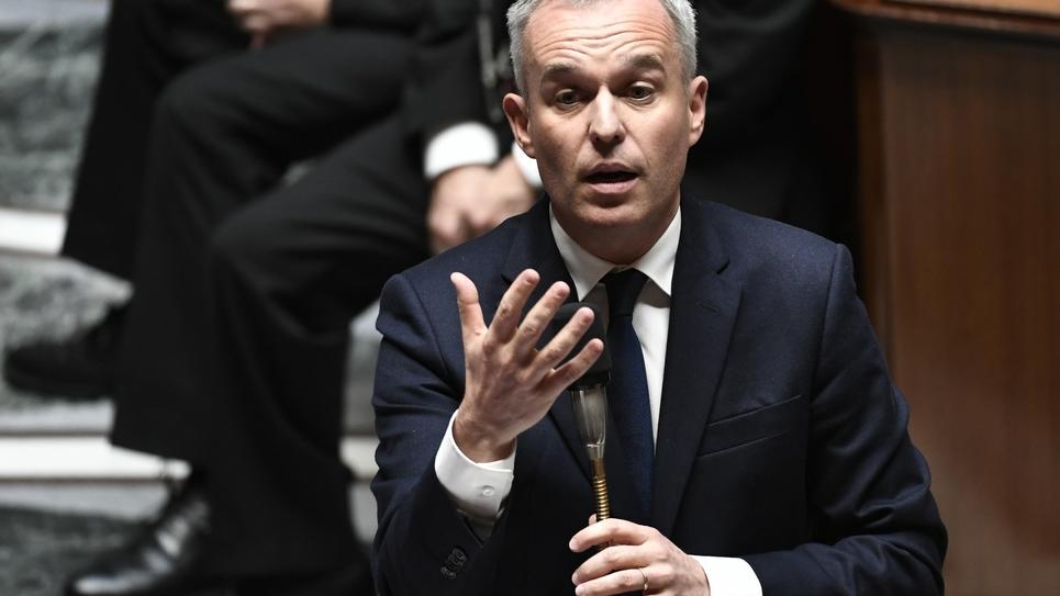 Francois de Rugy le 16 octobre 2018 à l'Assemblée nationale