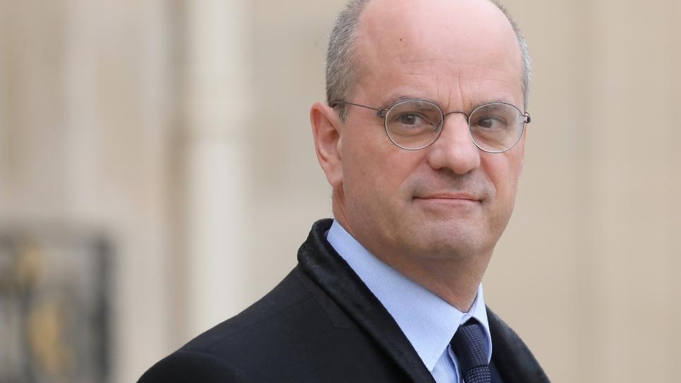 Le ministre de l'Education Jean-Michel Blanquer à l'Elysée, le 5 décembre 2018 à Paris