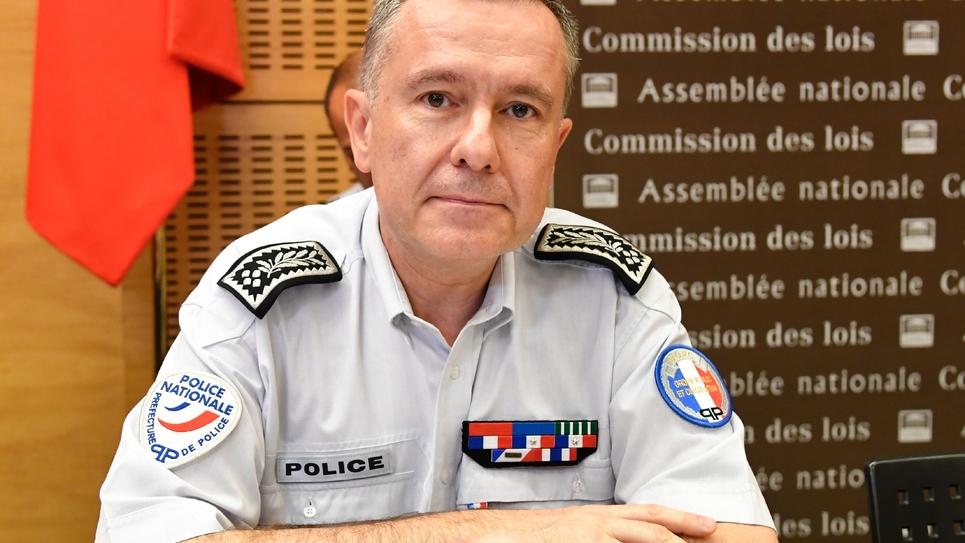 Le directeur de l'ordre public à Paris Alain Gibelin le 26 juillet 2018 à Paris