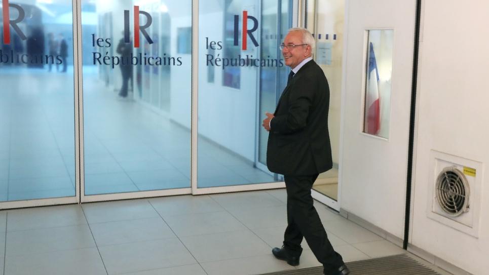 Jean Leonetti au siège des Républicains le 27 mai 2019