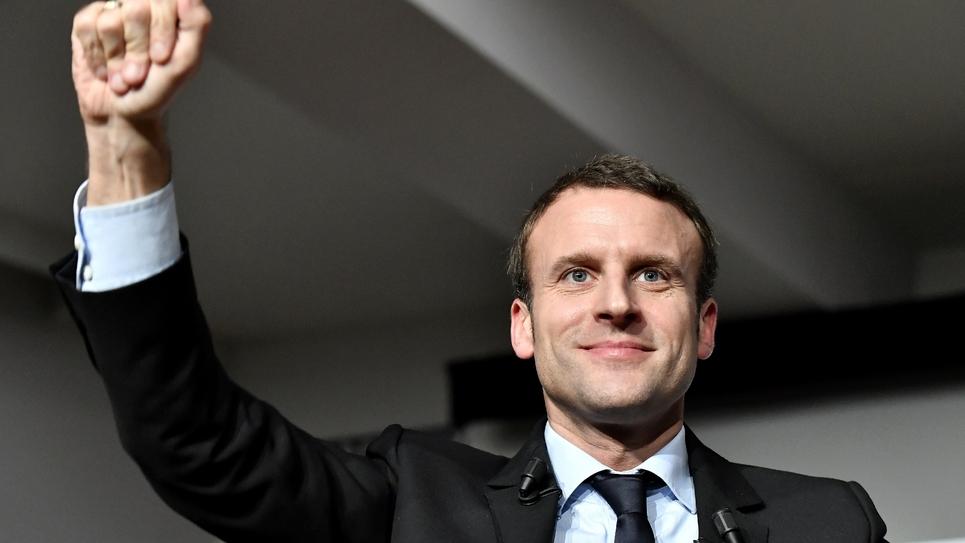 L'ex-ministre de François Hollande, Emmanuel Macron, le 13 décembre 2016 à Talence en Gironde