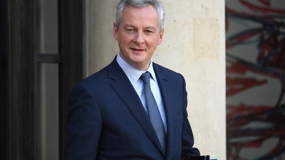 Le ministre français de l'Economie, Bruno Le Maire, le 21 novembre 2018