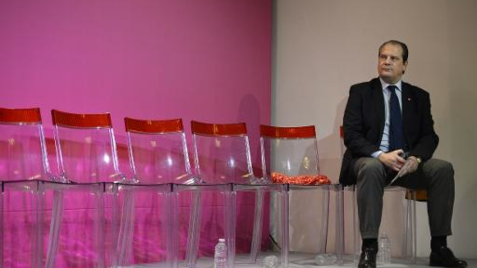 Jean-Christophe Cambadelis à Paris, le 3 mars 2014