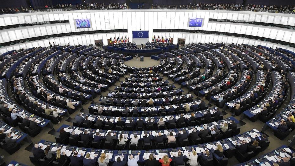 Séance plénière du Parlement, à Strasbourg, le 26 mars 2019