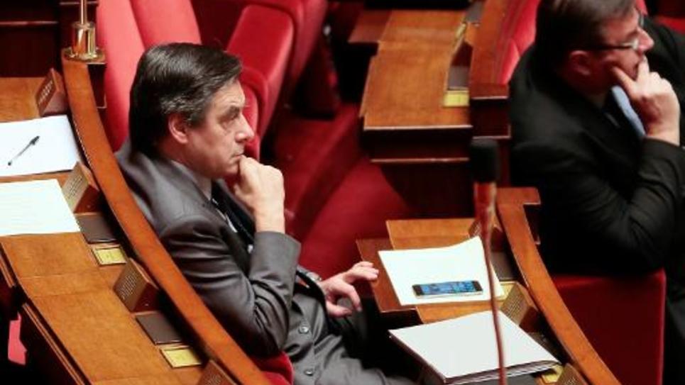 L'ex-Premier ministre Francois Fillon, le 26 janvier 2015 à l'Assemblée nationale, à Paris