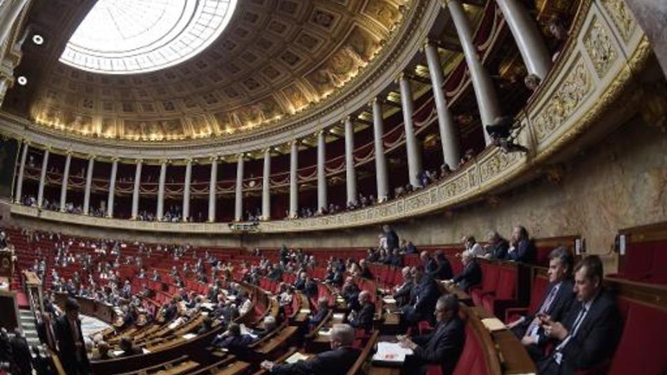 L'Assemblée nationale le 13 mai 2015 à Paris
