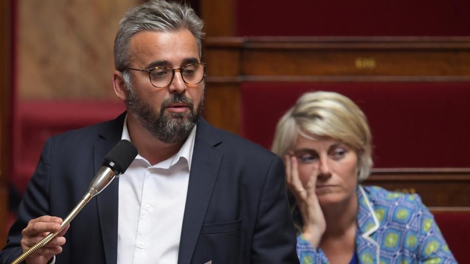 Le député LFI Alexis Corbière s'exprime le 18 juin 2019 à l'Assemblée nationale à Paris