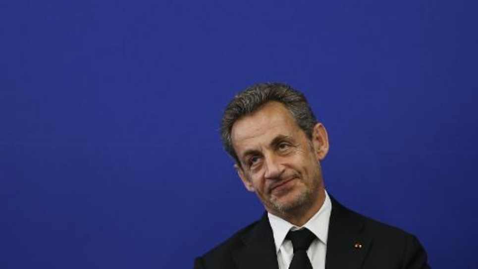 L'ex président Nicolas Sarkozy à Nice, le 10 mars 2014