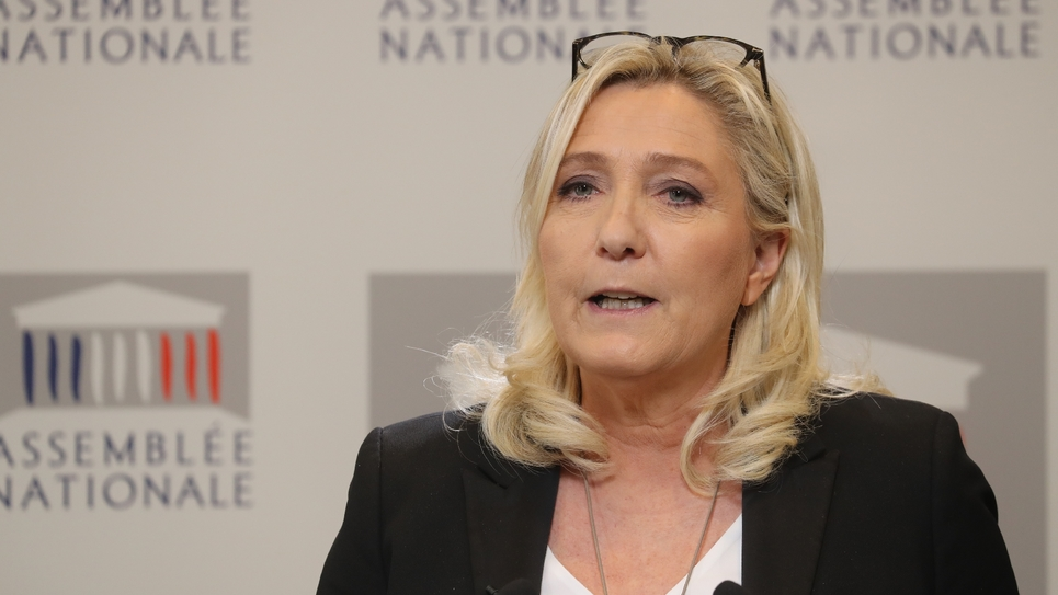Conférence de presse de Marine Le Pen le 3 mars 2020