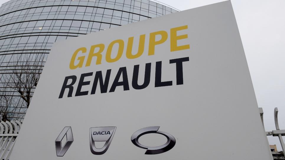 Le siège de Renault, le 24 janvier 2019 à Boulogne-Billancourt