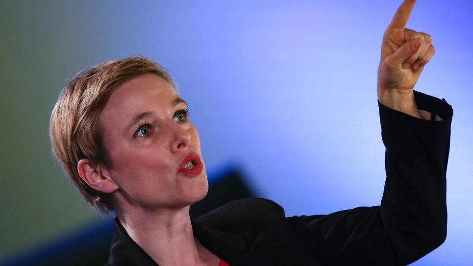Clémentine Autain en mars 2019 à Bobigny