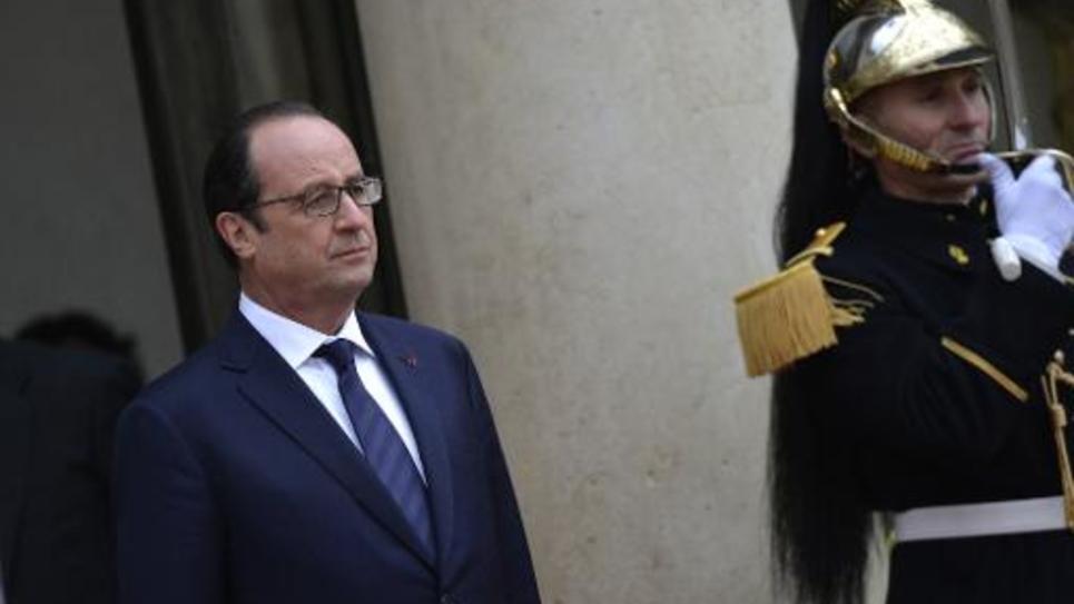 François Hollande à l'Elysée le 2 décembre 2014