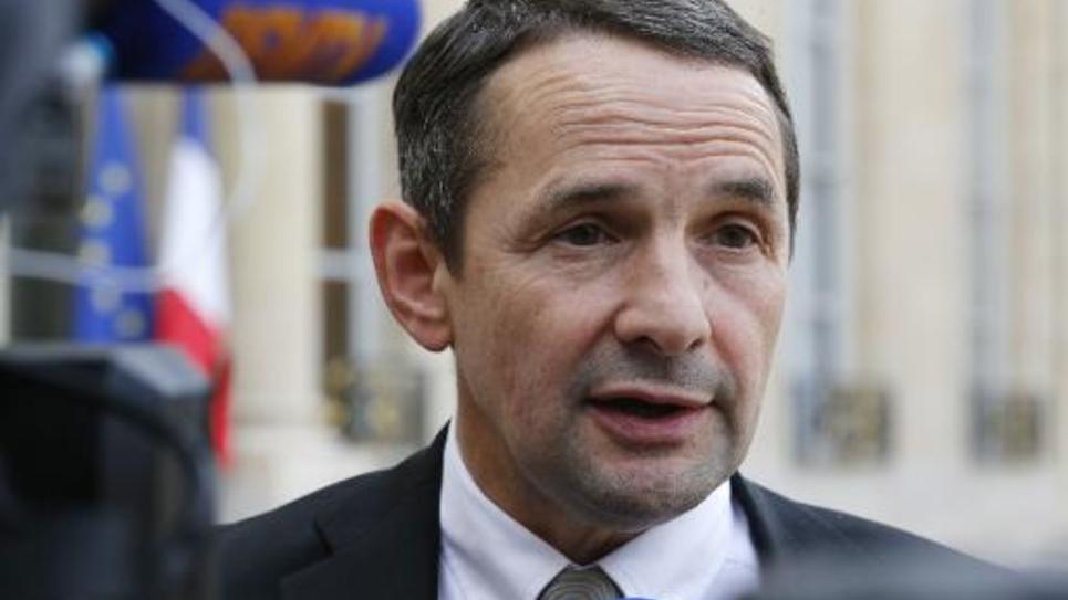 Le secrétaire d'Etat chargé de la Simplification, Thierry Mandon, le 30 octobre 2014 à l'Elysée