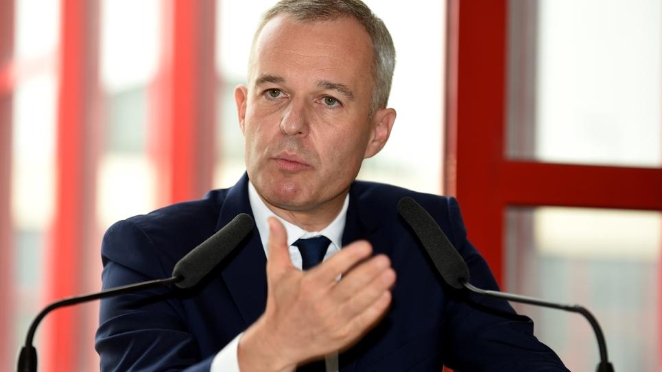 François de Rugy, ministre de la Transition écologique, à Rosny-Sous-Bois le 10 septembre 2018