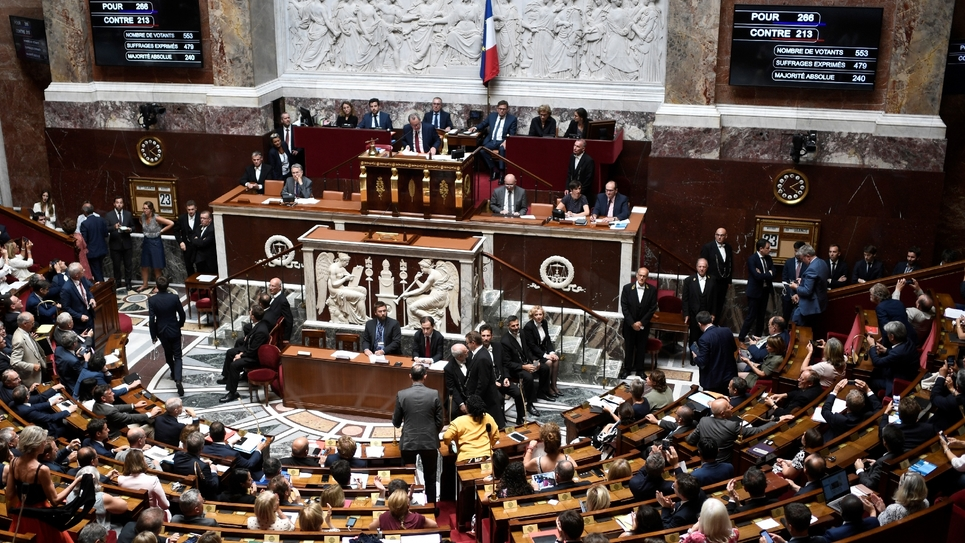 Vote du CETA à l'Assemblée nationale, le 23 juillet 2019