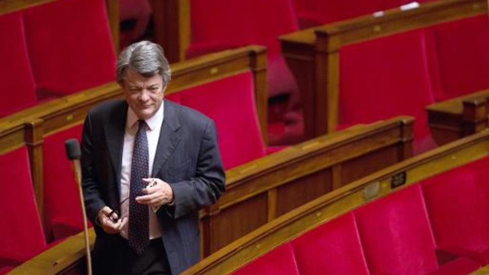 Jean-Louis Borloo le 7 octobre 2013 à l'Assemblée nationale, à Paris