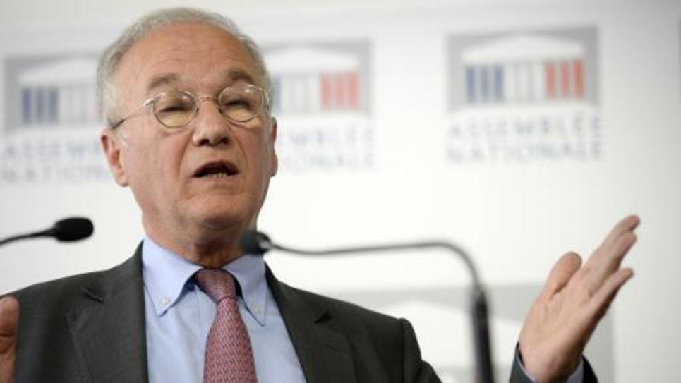 Le député UMP Gilles Carrez le 25 juin 2013 à l'Assemblée nationale