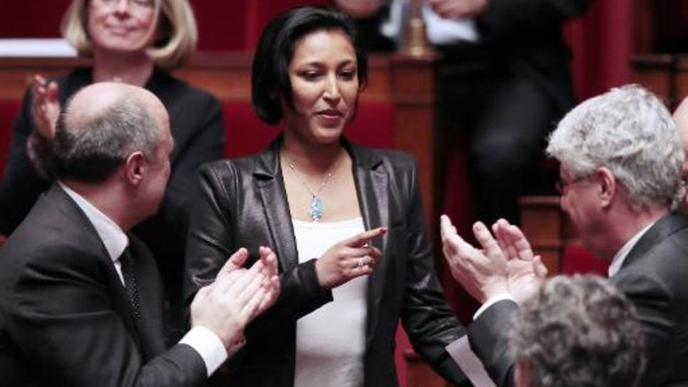 Corinne Narassiguin, porte-parole du Parti socialiste, à l'Assemblée nationale le 12 février 2013