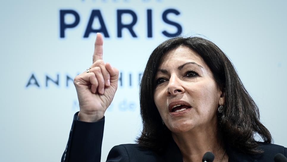 La maire de Paris Anne Hidalgo le 21 mars 2019 à Paris