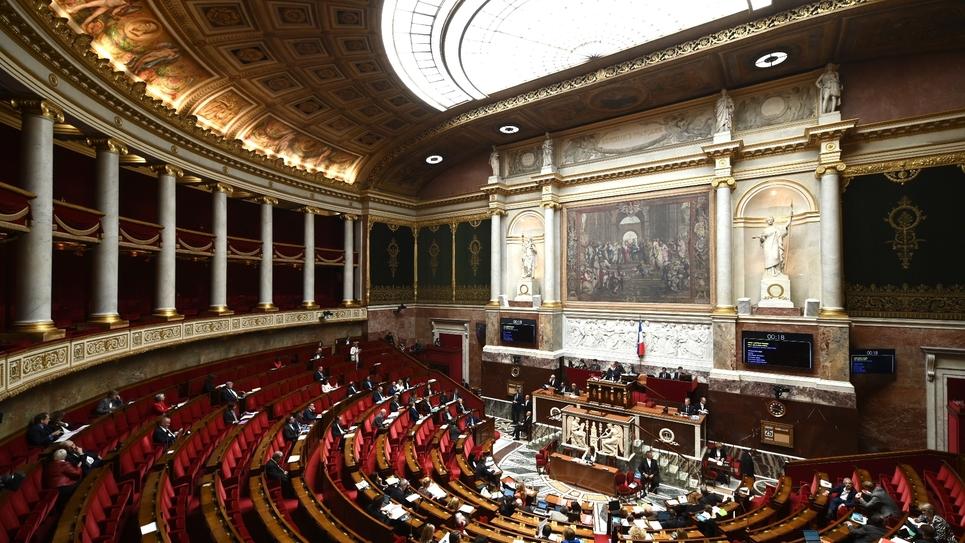 L'Assemblée Nationale le 25 septembre 2019 à Paris