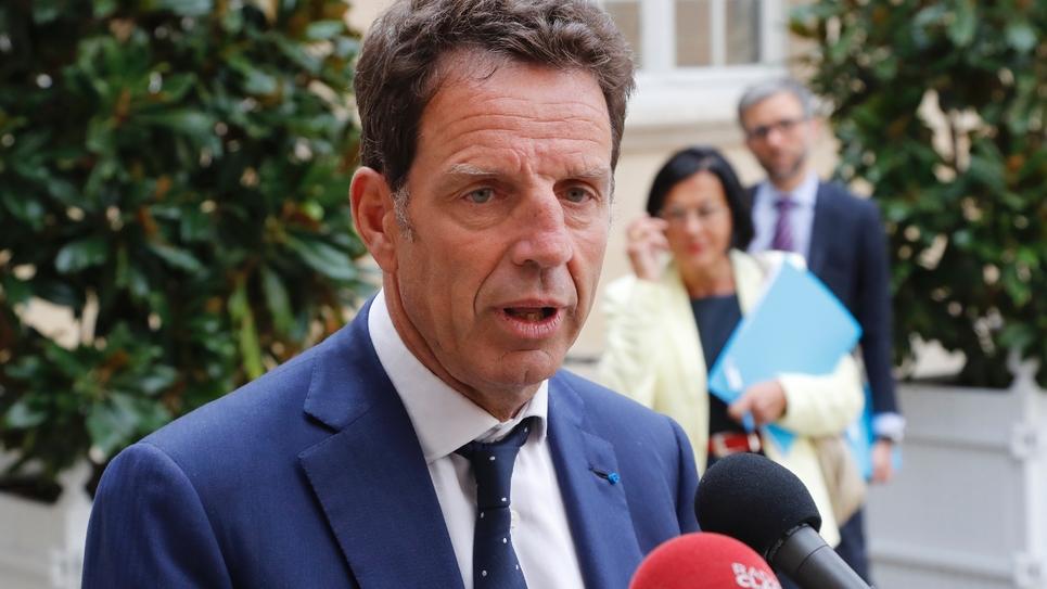 Geoffroy Roux de Bézieux le 5 septembre 2019 à Paris