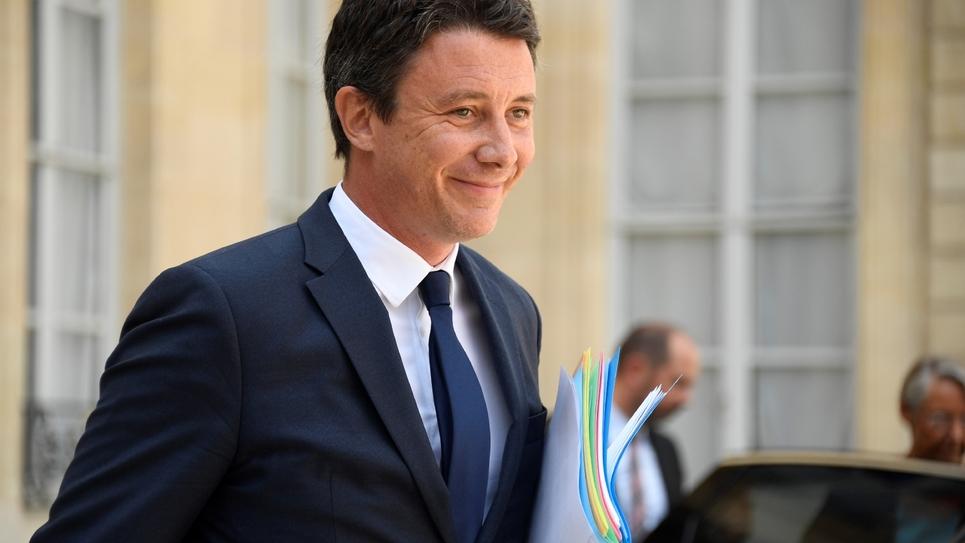 Le porte-parole  du gouvernement Benjamin Griveaux, le 22 août 2018 à Paris