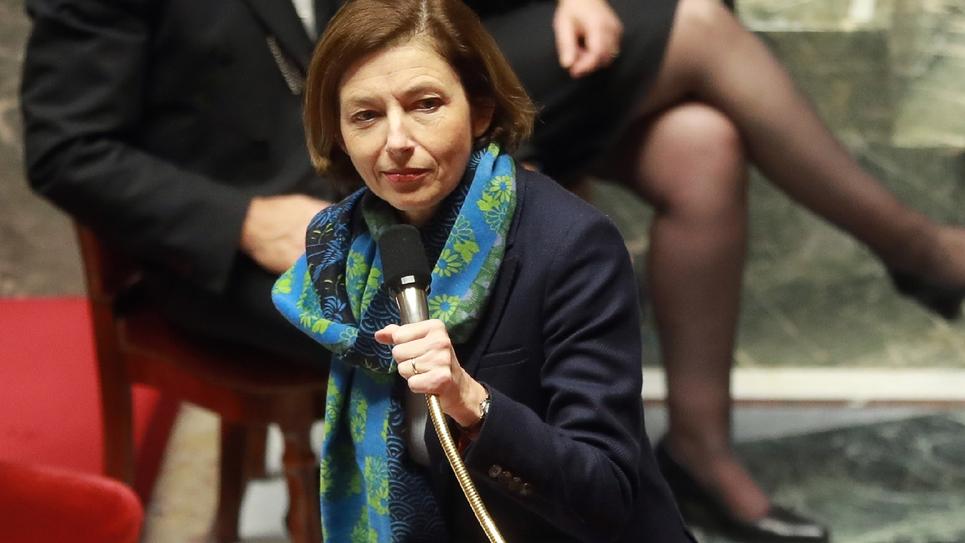La ministre des Armées Florence Parly à l'Assemblée nationale, le 28 novembre 2018