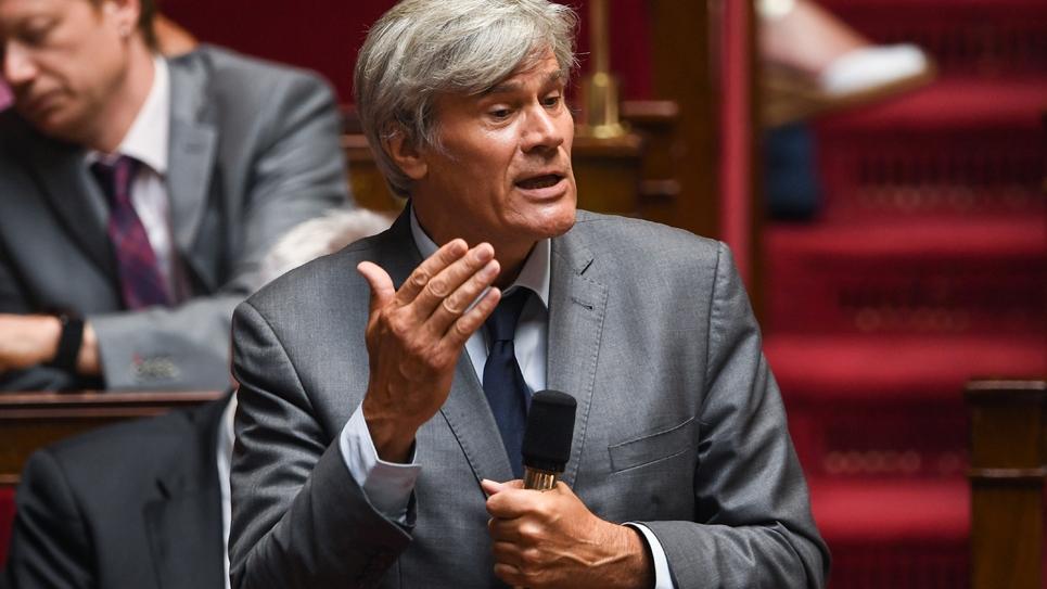 Le député PS Stéphane Le Foll à l'Assemblée nationale à Paris le 3 juillet 2018