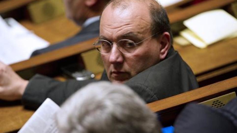 Le socialiste Julien Dray, le 15 novembre 2011 à l'Assemblée nationale, à Paris