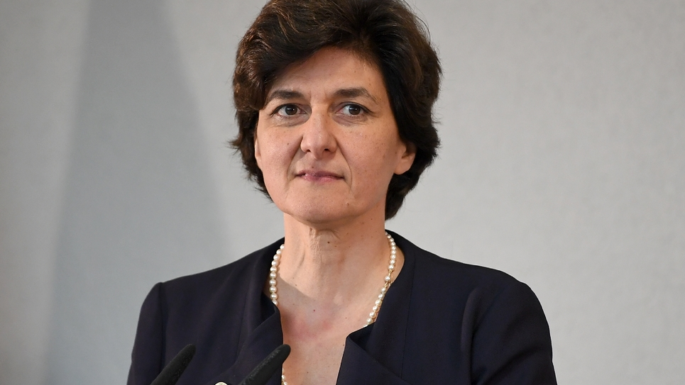 Sylvie Goulard en juin 2017 à Berlin