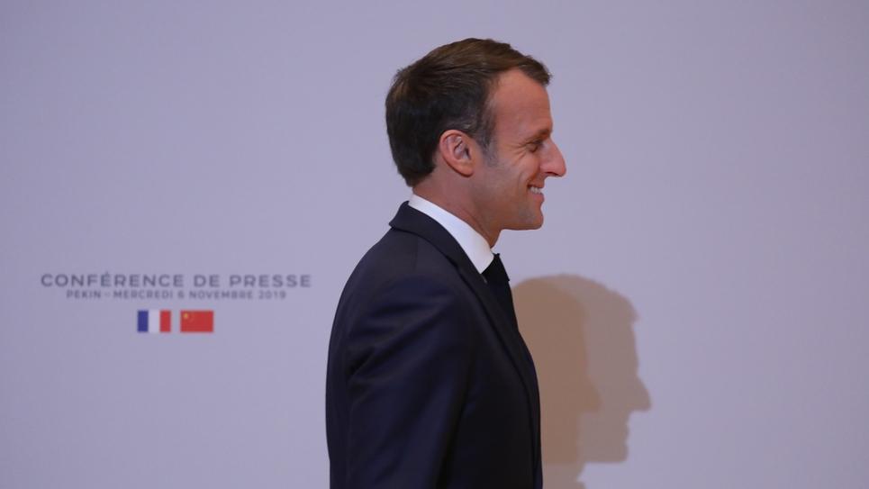 Emmanuel Macron, le 6 novembre 2019 à Pékin