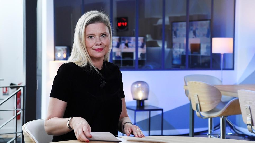 La journaliste Aude Lancelin, à Montreuil, près de Paris, le 18 septembre 2018