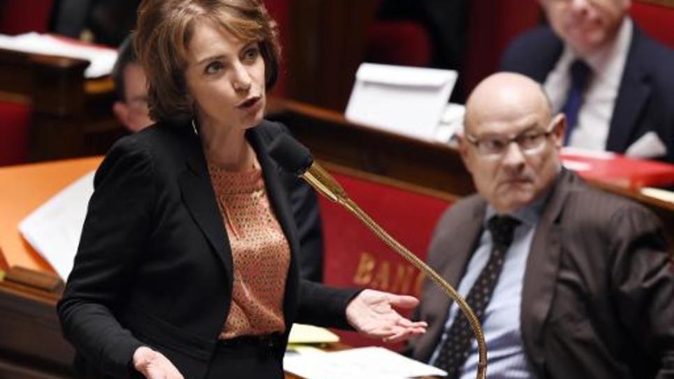 La ministre de la Santé Marisol Touraine à l'Assemblée nationale, à Paris, le 4 mars 2015