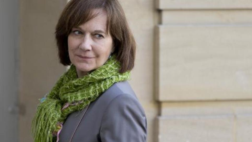 La secrétaire d'Etat à la Famille Laurence Rossignol à Paris le 6 mars 2015