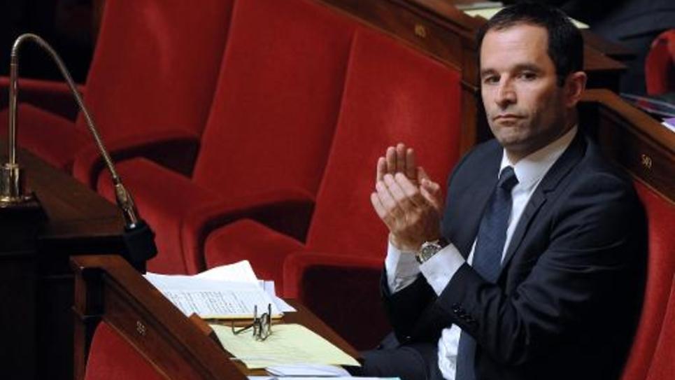 L'ancien ministre et député socialiste Benoît Hamon à l'Assemblée nationale le 2 décembre 2014