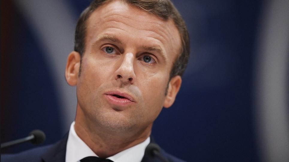 Emmanuel Macron au Conseil de l'Europe, à Strasbourg, le 1er octobre 2019