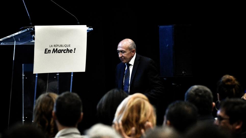 Gérard Collomb, le 29 septembre 2018 à Lyon