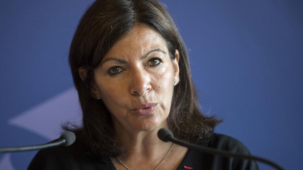 Anne Hidalgo le 4 juillet 2018, à l'Hôtel de Ville de Paris.