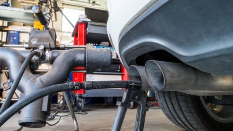 Tests émissions de gaz polluants